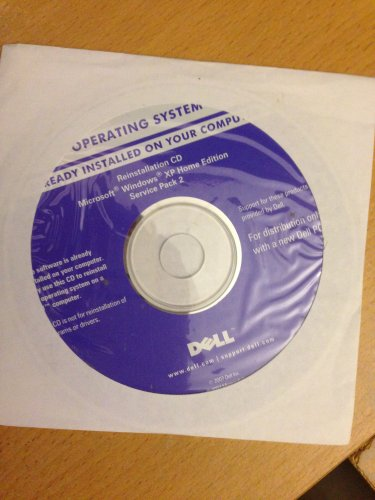 New DELL OEM Reinstallation CD Microsoft Windows XP HOME SP1