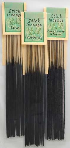 Frankincense & Myrrh 1618 Gold stick 13 pack - ISGFRAM