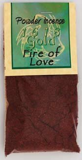 1oz Fire of Love powder incense - IPGFIR