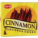 HEM Cinnamon 10 incense cones - ICHCI