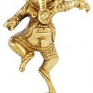 "Brass Ganesh Shrine 3 1/2"" - SGAN3"