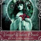 Vintage Wisdom oracle deck by Victoria Moseley - DVINWIS