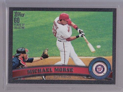 2011 TOPPS 2 Black #ed 50/60 Michael Morse #518