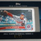 2011 Topps Series 2 Silk Collection /50 Drew STOREN
