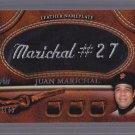 ==  2011 Topps 2 BLACK Nameplate Juan MARICHAL  #42/99