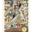 2011 TOPPS.2 JUAN MARICHAL LEGENDS SP VARIATION # 590