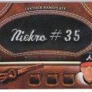 ==  2011 Topps 2 BLACK Nameplate Phil Niekro  #84/99