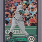 2011 TOPPS  2 Black #ed 59/60  Ryan Sweeney #493