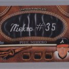 ==  2011 Topps 2 BLACK Nameplate Phil Niekro  #88/99