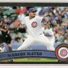 2011 TOPPS 2 Black #ed 32/60 Marcus MATEO  #431 Rookie
