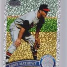 2011 Topps 2 Diamond Anniversary SP Eddie Mathews  #640