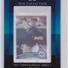 2011 Topps 2 Silk Collection 11/50 Jason Bartlett HOT