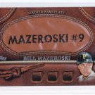 2011 Topps Series 2  Leather Nameplate Bill Mazersoski
