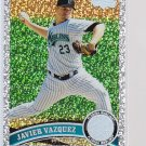 #458 Javier Vazquez = 2011 Topps Series 2 Diamond Parallel
