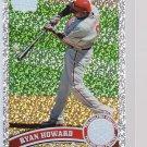 #420 Ryan Howard = 2011 Topps Series 2  Diamond Parallel