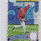 #437 Jordan Schafer = 2011 Topps Series 2  Diamond Parallel