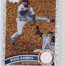 #435 Elvis Andrus = 2011 Topps Series 2 Diamond Parallel