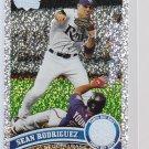 Sean Rodriguez = 2011 Topps Series 2 Diamond Parallel
