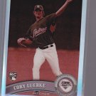 TAKING OFFERS = 2011 Topps Chrome Sepia Refractor Cory Luebke RC 96/99