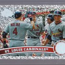 #334 St. Louis Cardinals Team carda = 2011 Topps Series 2 Diamond