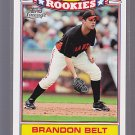 2011 Topps Lineage Rookies #11 Brandon Belt Giants