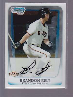 2011 Bowman Chrome Prospects #BCP93 Brandon Belt