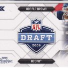 2009 Playoff Prestige  DONALD BROWN  RC  Make offers = we sell cards (stk#ft 7 )