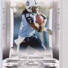 2009 Playoff Prestige CHRIS JOHNSON  (stk#ft25)
