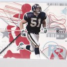 2002 SPX  BEN LEBER  Rookie  serial numbered to 1500       (stk#30)