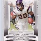 2009 Playoff Prestige ADRIAN PETERSON  (stk#ft24)