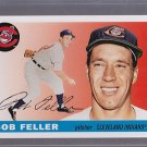 2011 Topps 1955 Bob Feller Original Back SP