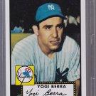2011 Topps Yogi Berra 60 Years of Topps Original Backs