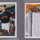 HOT 2011 Topps ORIGINAL BACK 60YOT-118 BUSTER POSEY