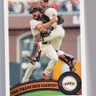 2011 TOPPS Series 2 San Francisco GIANTS  13 card team set.  BELT rc