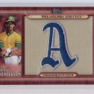 2011 Topps Commemorative Patch #RH Rickey Henderson S2