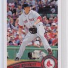 RARE = 2011 Topps  Sparkle JOSH BECKETT #610  = ONE per CASE HIT SP