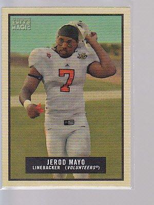 2009 Topps Magic Football #22 Jerod Mayo Patriots   ---stk503
