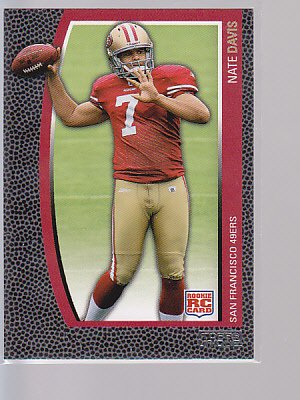 2009 Topps Unique RC #169 Nate Davis 49ers   ---stk495