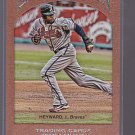 2011 Gypsy Queen /999 Frame 10 Jason Heyward   Atlanta   *stk0438