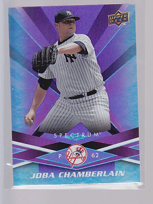 2009 Upper Deck Spectrum JOBA CHAMBERLAIN  Yankees #68  *stk0281