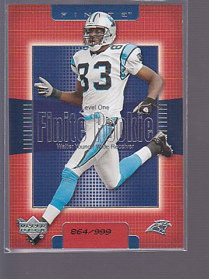 WALTER YOUNG 2003 Upper Deck Finite Rookie #246  #ED TO /999     _ stk0185