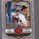 2009 Upper Deck A Piece of History #55  JOE MAUER           *stk0148