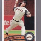 2011 TOPPS #590 TIM LINCECUM   GIANTS----*bb00 75