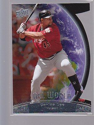 2009 UD Series 1 All World Die-Cut #3 Carlos Lee Astros  ----*bb00 68