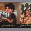 2010 UPPER DECK CELEBRITY PREDICTORS ANISTON MAYER CP 1/2  -----------*bb0056