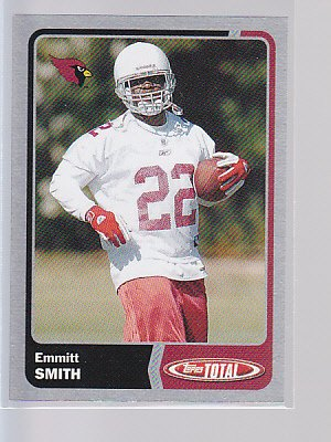 Very Rare 2003 Topps Total Silver #265 Emmitt SMITH (stk#ft51)