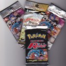 4 UNOPENED Booster packs  American and Japanese Mix
