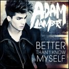 Adam Lambert Better Than I Know Myself Japanese CDS