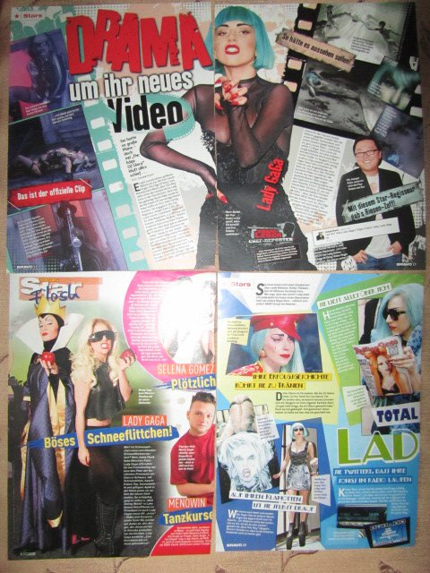 Lady Gaga clippings #1