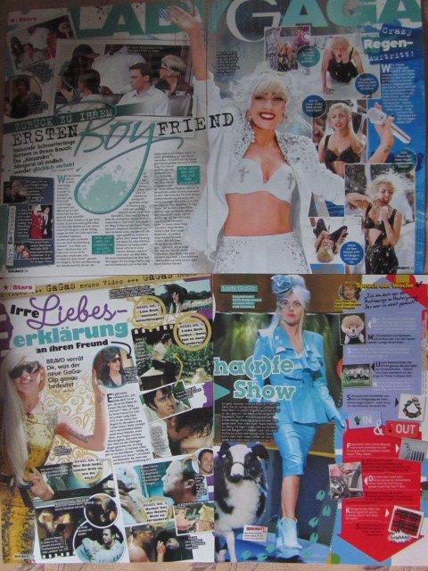 Lady Gaga clippings #2